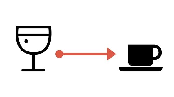 alkohol na kawę