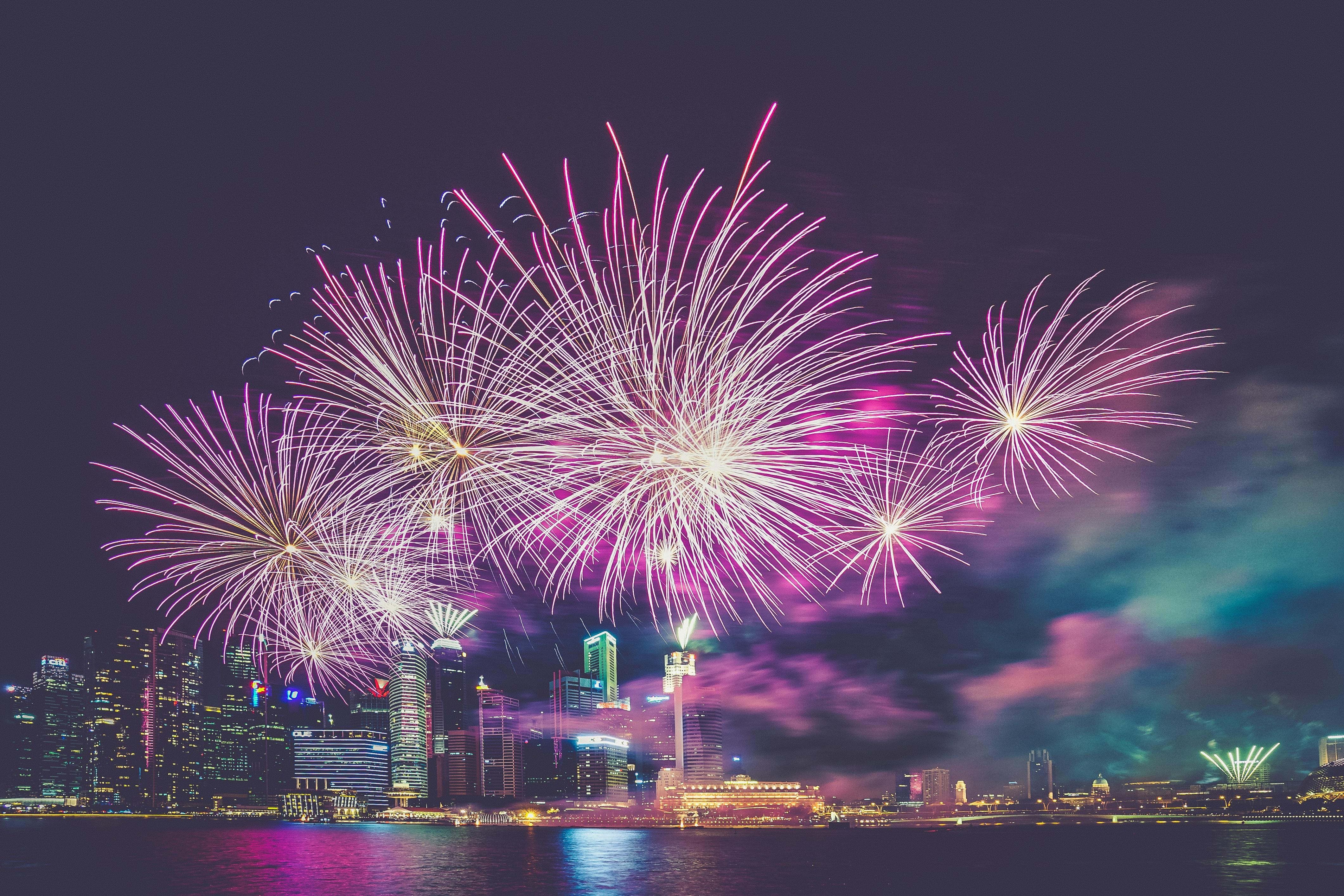 nowy rok, fajerwerki 1